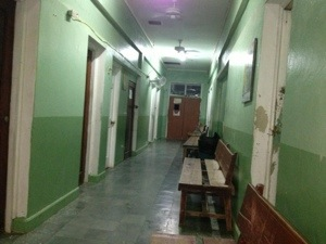 Hospital Corridor, Roatan