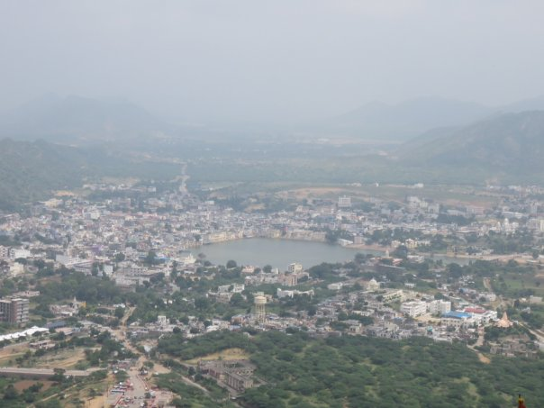 Pushkar Lake view