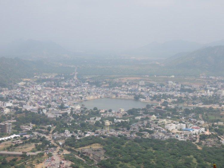 Pushkar Lake view