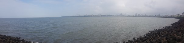 Mumbai panoramic view