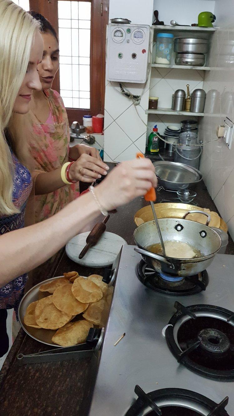 Udaipur cooking