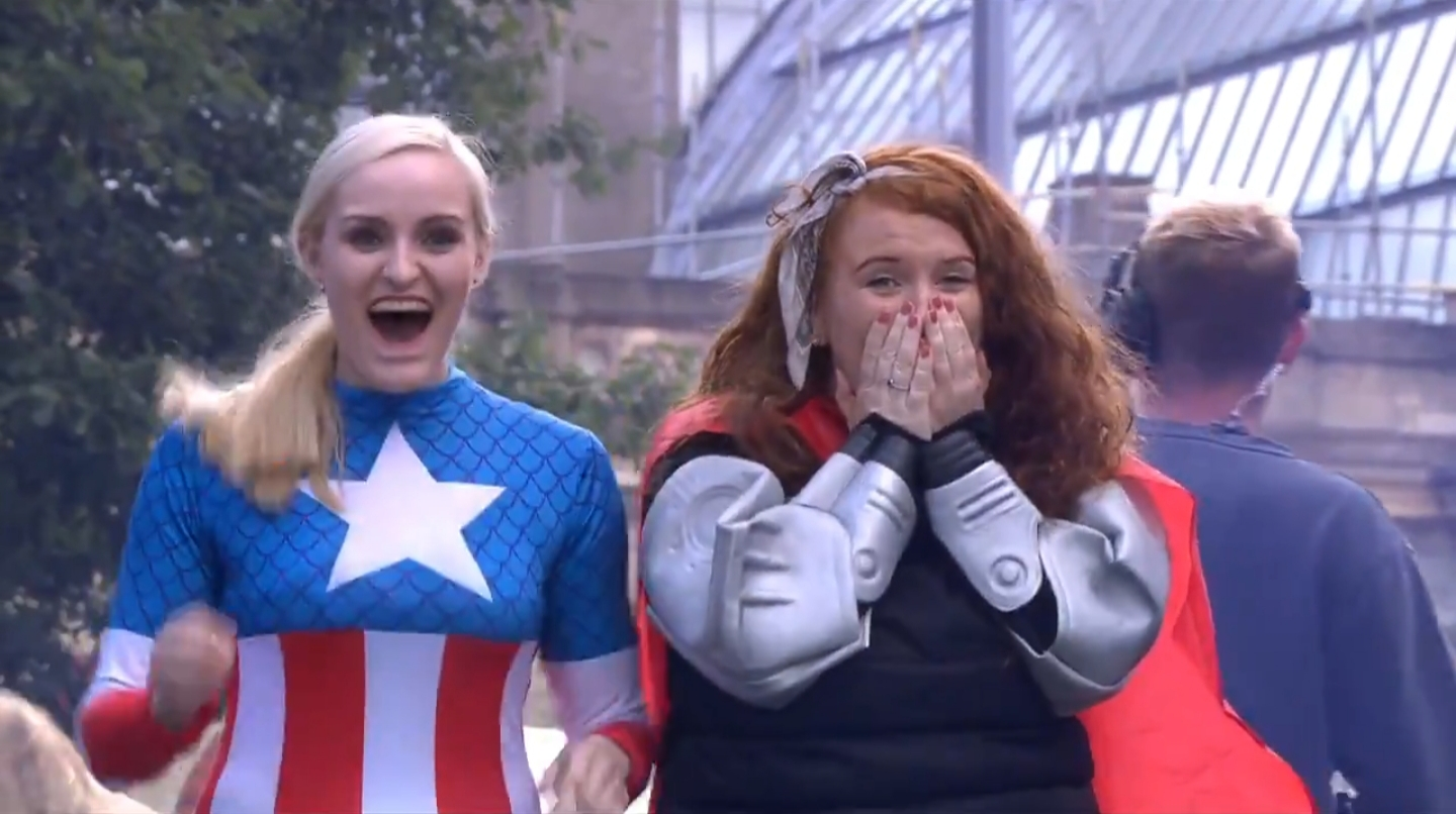 Appearance on the Red Bull Soapbox Race as part of an all-women team