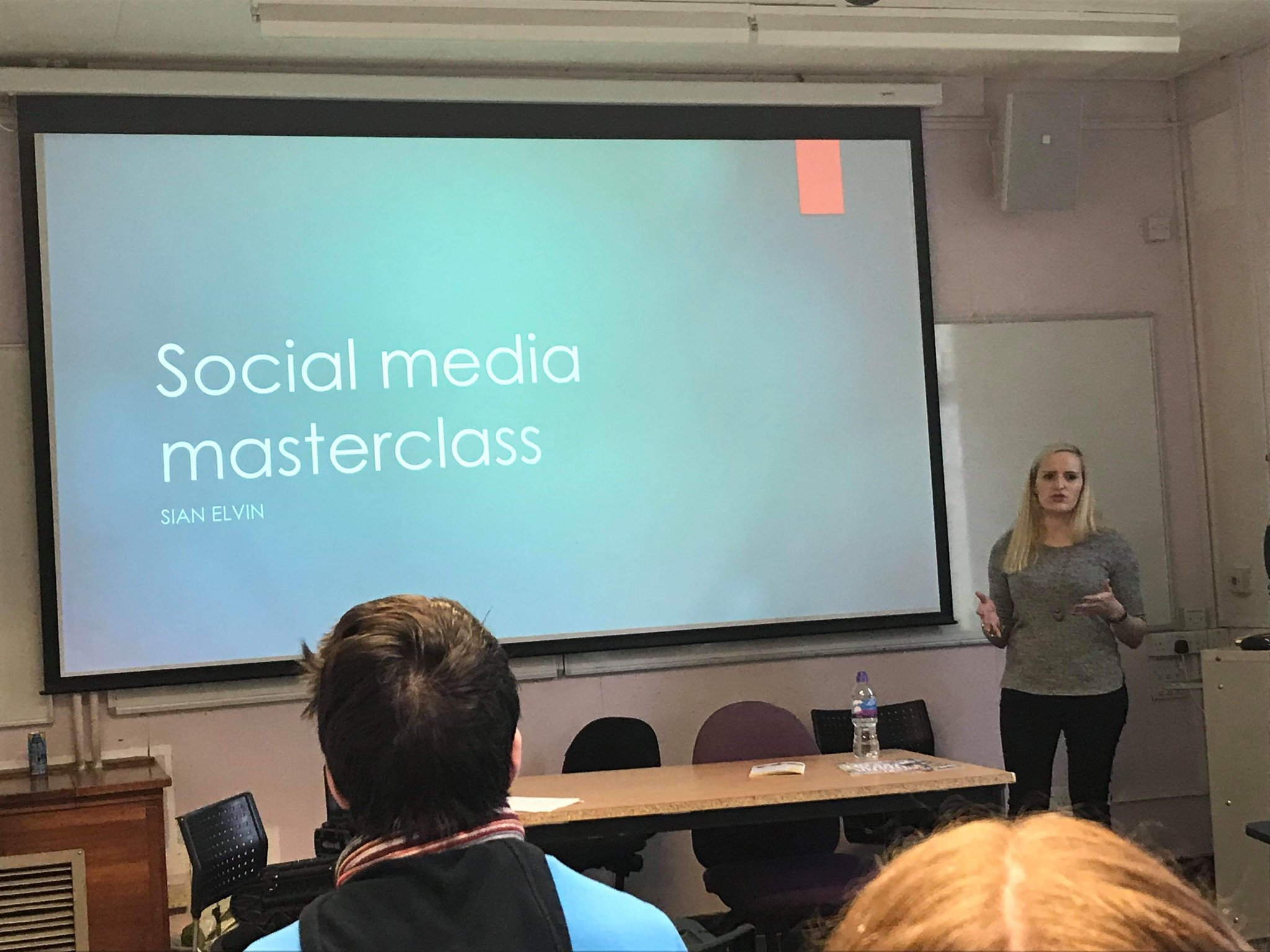 Running a social media masterclass at the Student Publication Association's National Conference in York