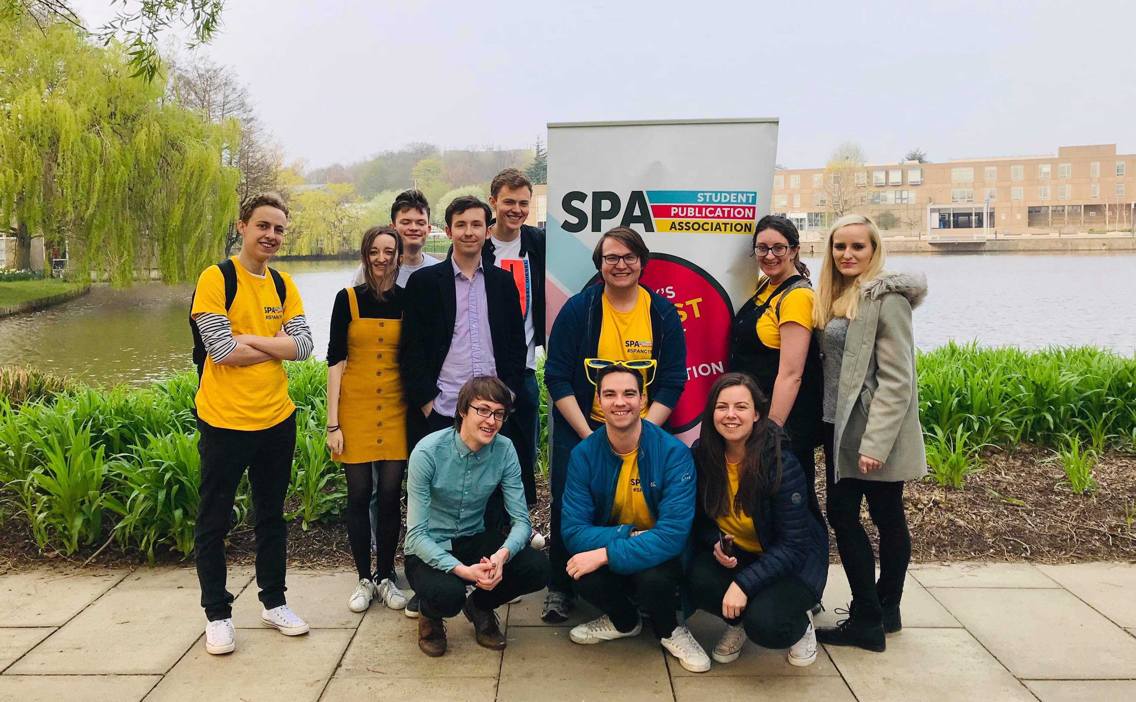 Organiser at the Student Publication Association's National Conference in York (April 2019)